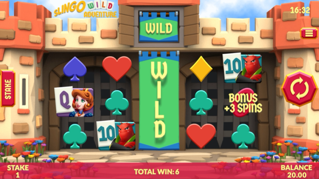 Slingo Wild Adventure Screenshot